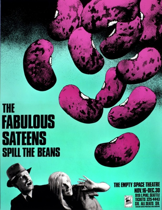 Poster for The Fabulous Sateens Spill the Beans