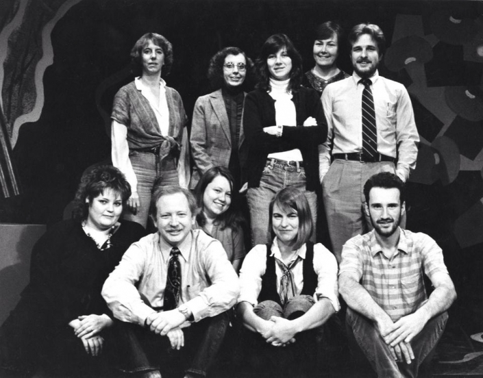 Staff of the Empty Space in 1984